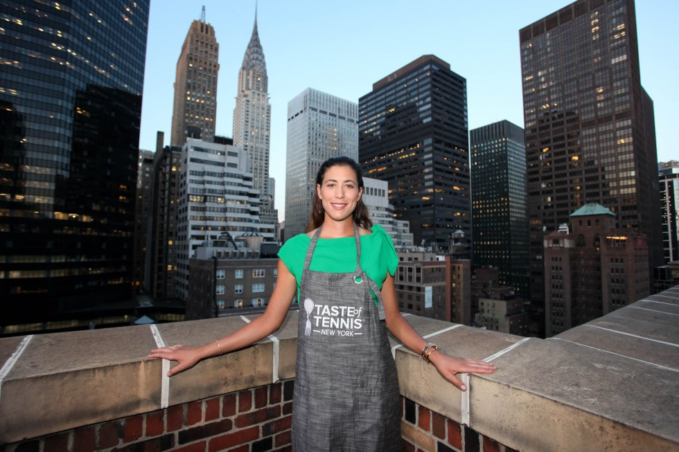 NEW YORK, NY - AUGUST 24: Garbiñe Muguruza attends Taste Of Tennis Master Class With St Giles Hotels at The Tuscany, A St Giles Signature Hotel on August 24, 2016 in New York City. (Photo by Donald Bowers/Getty Images for St Giles Hotels)